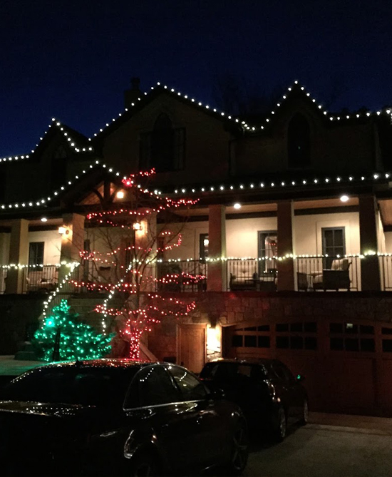 Residential Christmas Light Installation Denver CO